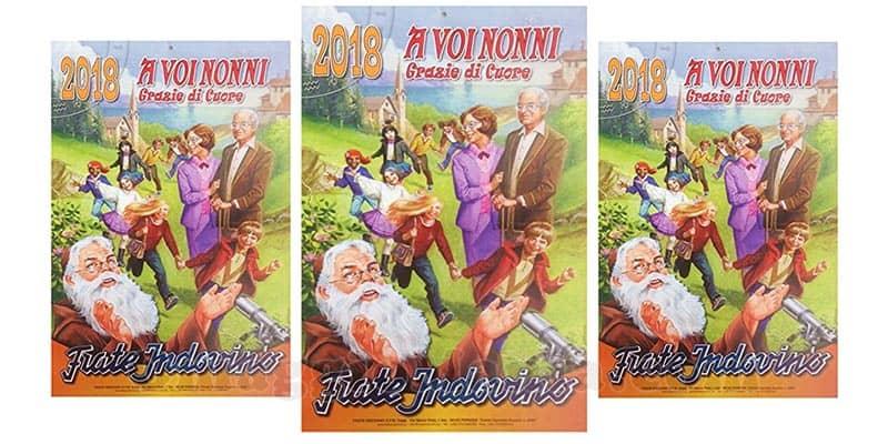 calendario Frate Indovino 2018