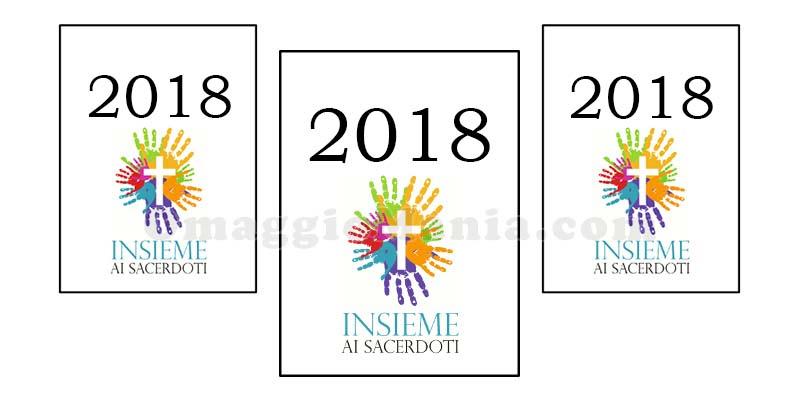 calendario Insieme ai Sacerdoti 2018