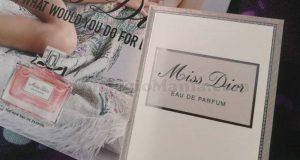 campione omaggio Miss Dior di Laura