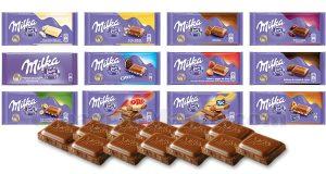 cioccolato Milka tavolette