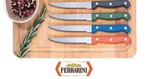 coltello da bistecca Ferrarini omaggio