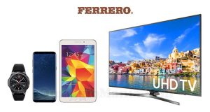concorso Praline Ferrero Samsung