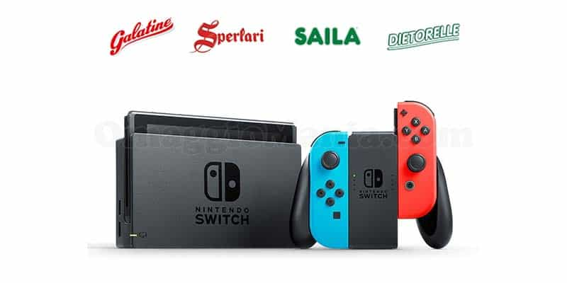 concorso Sperlari Halloween 2017 Nintendo Switch