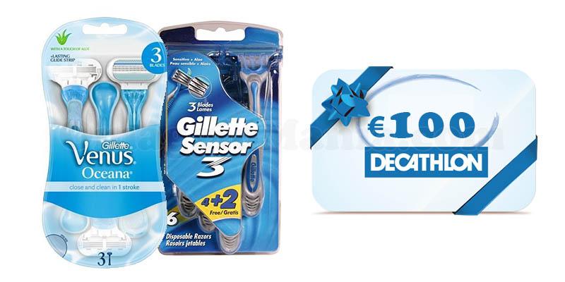 concorso Vinci lo sport con Gillette