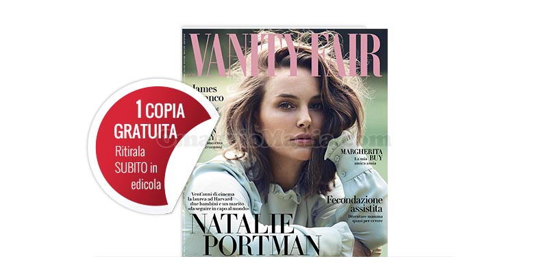 coupon omaggio Vanity Fair 39 2017