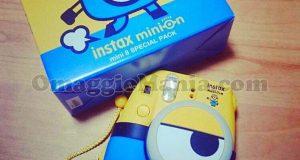 fotocamera istantanea Fujifilm Instax Minion di Stefania