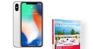 iPhone X e Smartbox Fuga da assaporare