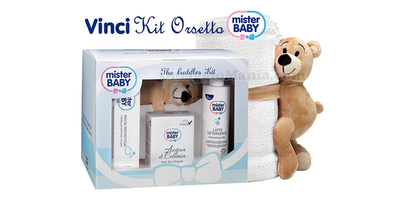 kit orsetto Mister Baby The Cuddles Kit