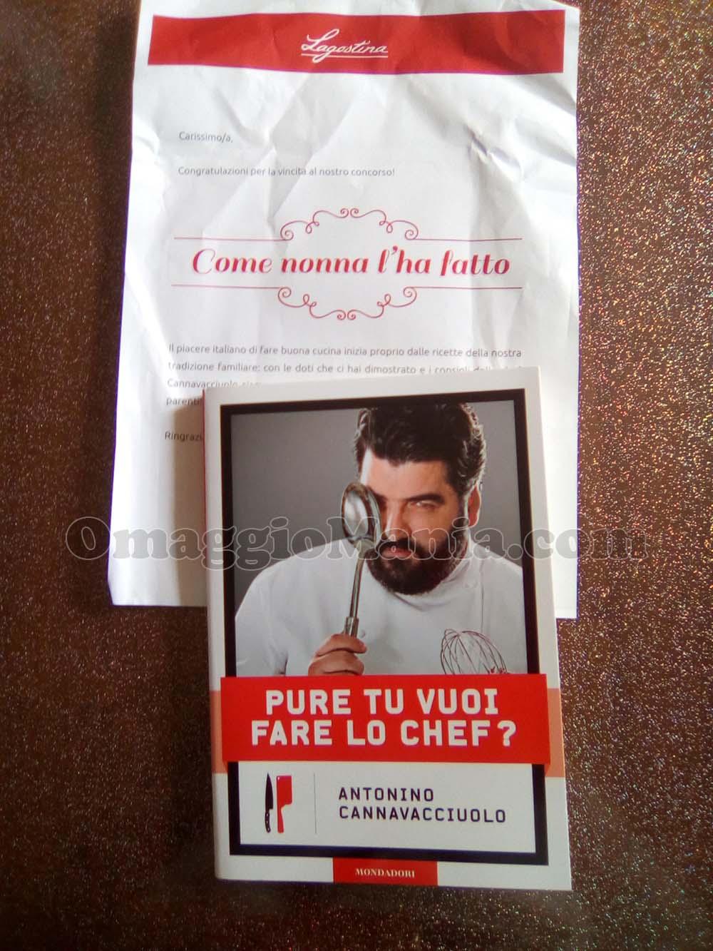 libro Cannavacciuolo Pure tu vuoi fare lo chef di Mery