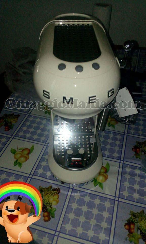 macchina caffè SMEG di Letizia con Mulino Bianco