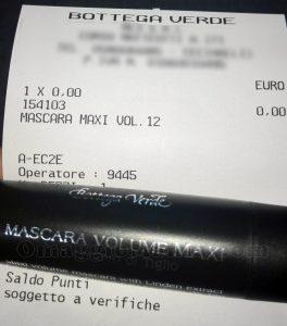 mascara volume maxi Bottega Verde di Dayana