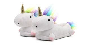 pantofole a unicorno