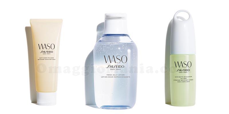 prodotti Shiseido Waso