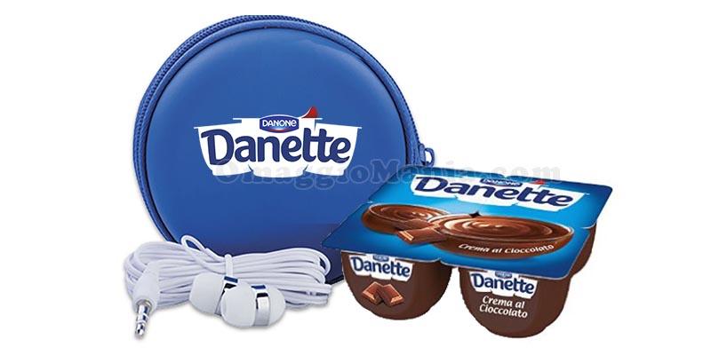 set auricolari Danette Danone