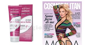 shampoo Biopoint Speedy Hair con Cosmopolitan novembre 2017