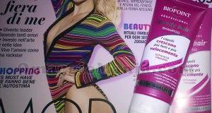 shampoo Biopoint Speedy Hair di Daniela con Cosmopolitan