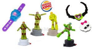 sorprese Burger King Tartarughe Ninja e Monster High