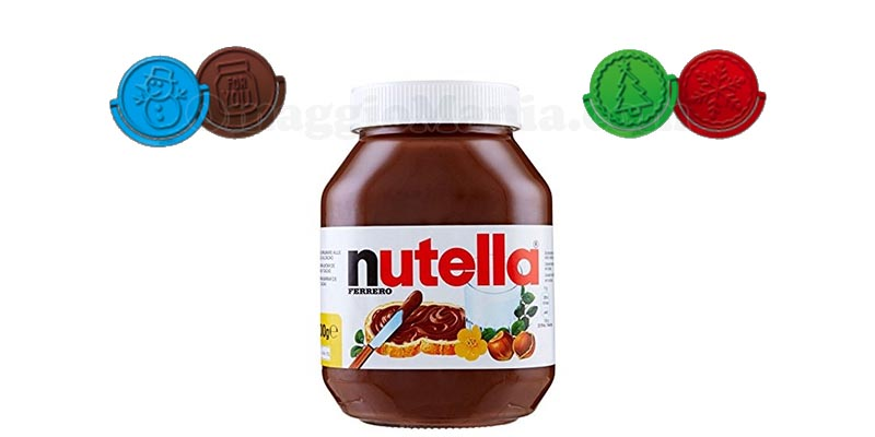 stampini Natale Nutella 2017
