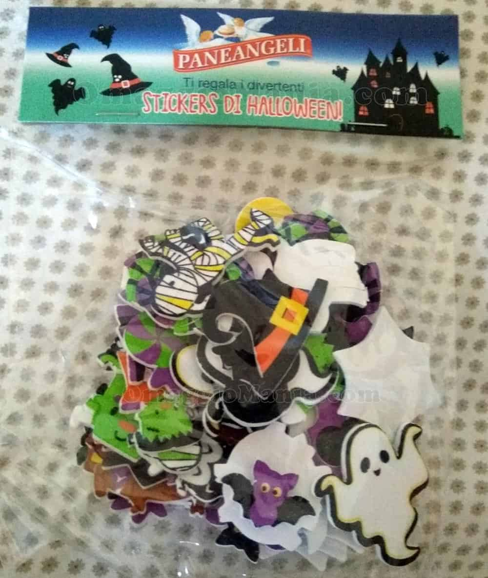 stickers di Halloween Paneangeli di Stefano