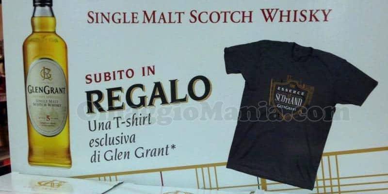 t-shirt Glen Grant omaggio