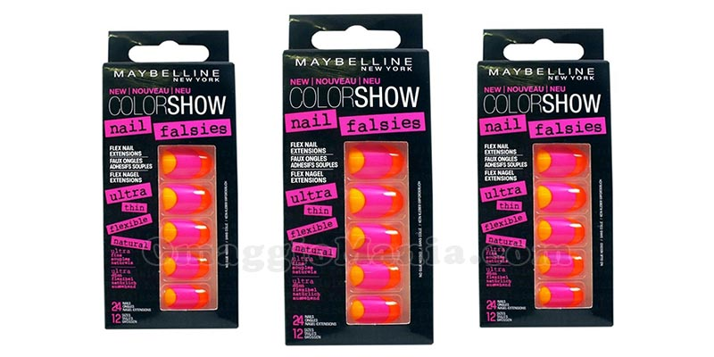 unghie finte Maybelline Color Show