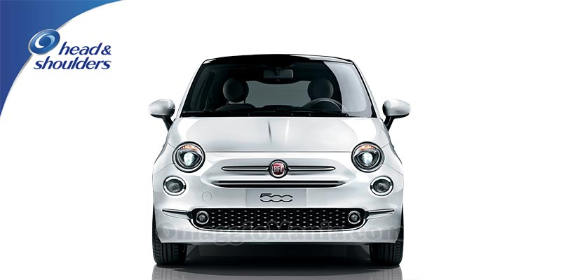 vinci Fiat 500 con Head & Shoulders