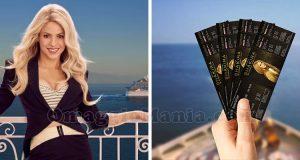 vinci biglietti Shakira con Costa