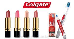 Acquista un dentifricio e uno spazzolino con penna Expert white e ricevi a casa tua un rossetto Revlon