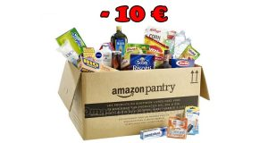 Amazon Pantry sconto 10 euro