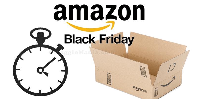 Black Friday 2017 Amazon data ufficiale