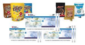 M&M's Twix Bounty Mars Promo Christmas