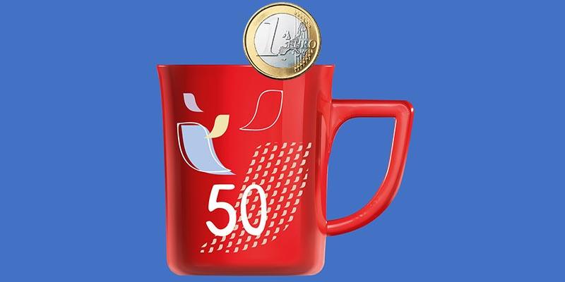 Nescafé Mug Limited Edition 50 a 1 euro