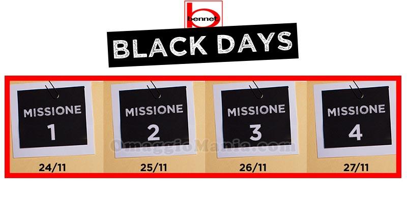 Operazione Black Days Bennet 2017