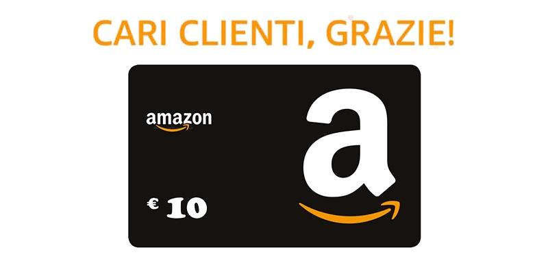 buono Amazon GRAZIE1000 2017