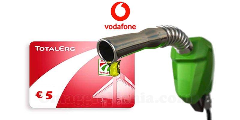 buono carburante TotalErg con Vodafone