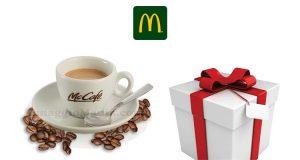 caffè gratis e sorpresa McDonald's Caffedì