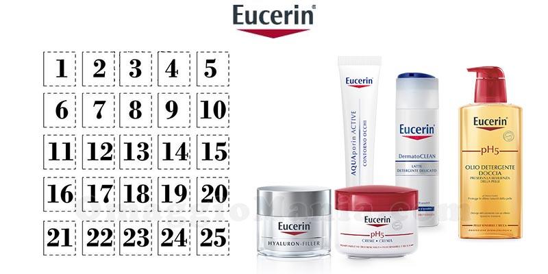 calendario Avvento 2017 Eucerin