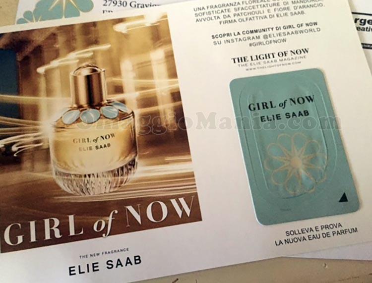campione omaggio Elie Saab Girl of Now di Simona