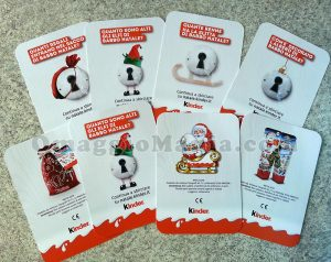 cards Kinder Natale 2017 di Sabry77