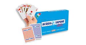 carte da gioco Acqua & Sapone
