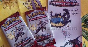carte da gioco Pokemon Sole e Luna Invasione Scarlatta