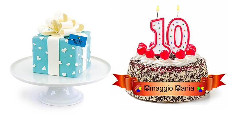 compleanno OmaggioMania 2017 10 100 1000