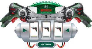 concorso Bosch Slot Machine Cut & Win