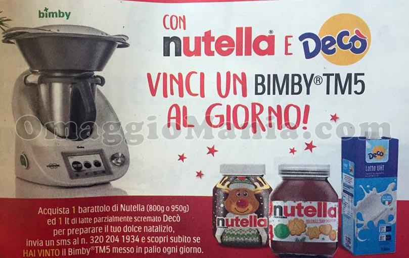 concorso Nutella Vinci un Bimby TM5 al giorno