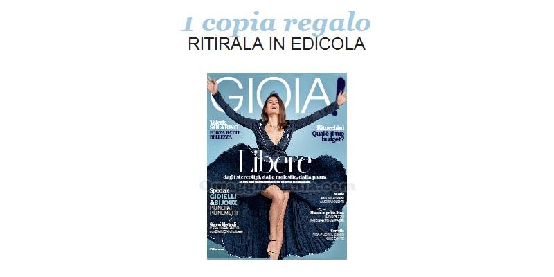 coupon omaggio Gioia 46 2017