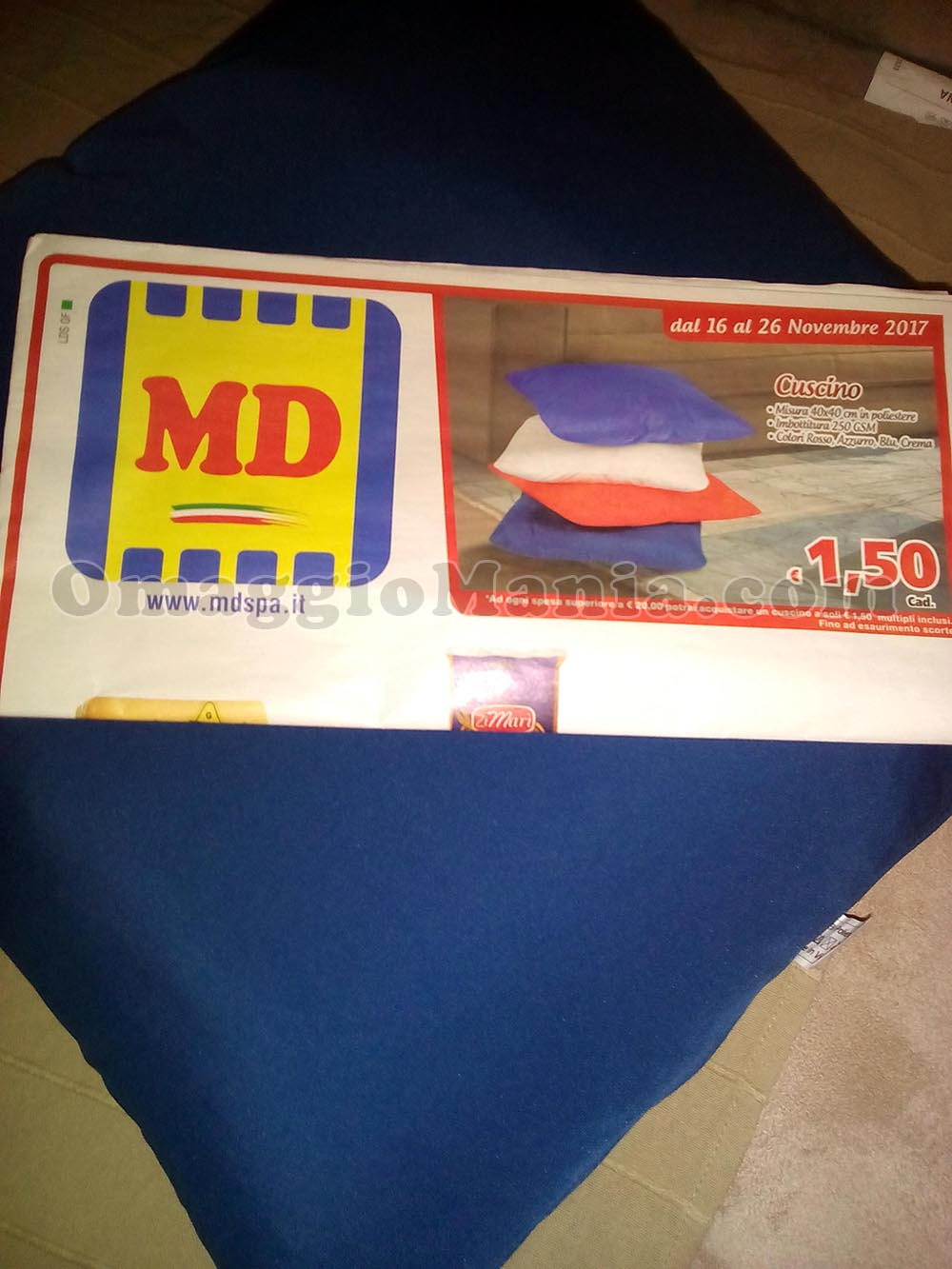 cuscino MD di Fede