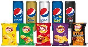 fornitura prodotti Pepsi Lay's