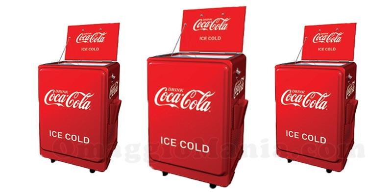 ghiacciaie vintage Coca Cola