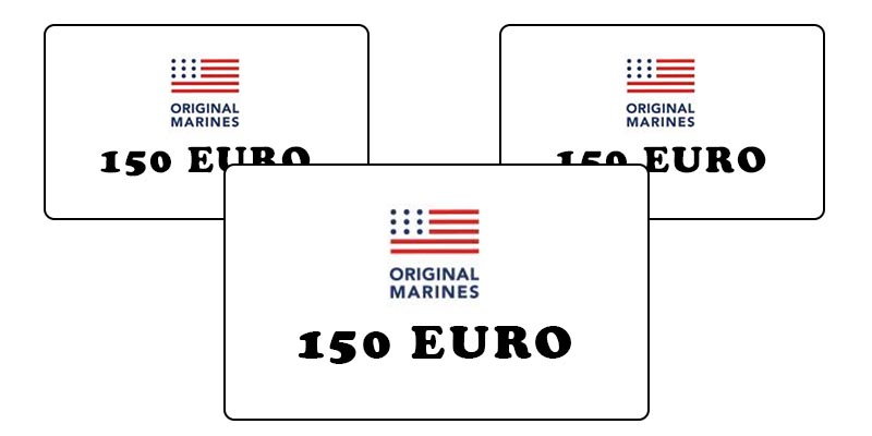 gift card Original Marines 150 euro