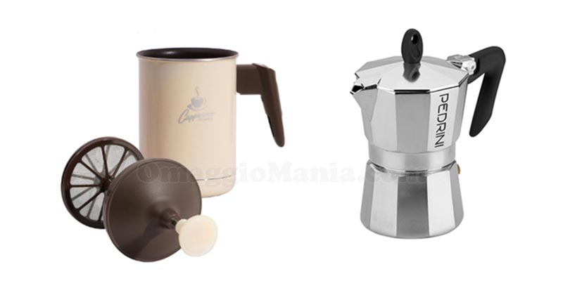 kaffettiera o cappuccino maker Pedrini